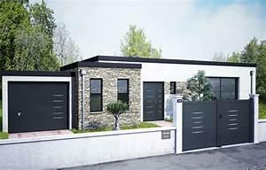 Cloture Maison Moderne : portail et cl ture montpellier nimes avignon partner ~ Melissatoandfro.com Idées de Décoration