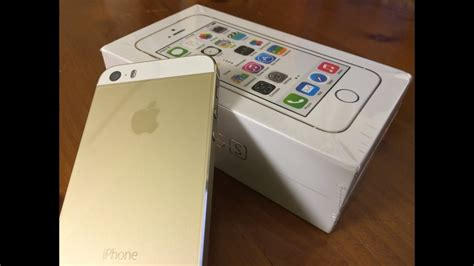 Iphone 5s Gold 16gb 2918 by Unboxing Iphone 5s Gold Edition 16gb