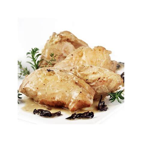 plats cuisines sous vide filet de volaille entre terre et mer sachet 250 gr le gourmet de la chasse