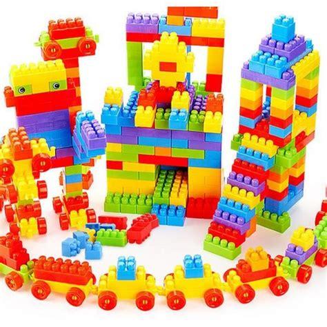 jeux imitation cuisine 188 pcs jeu de construction cube assemblage 188 pcs