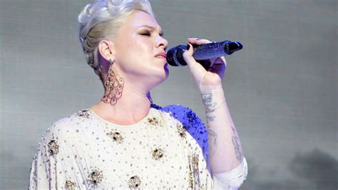 Pink Slams Critics Calling Out Her Weight Gain