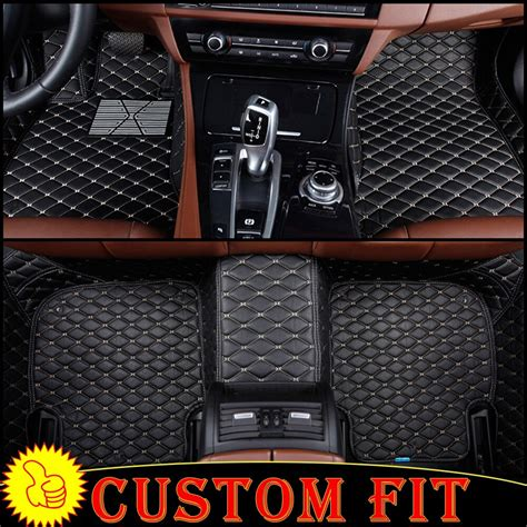 custom fit car floor mats liners  audi rs  auto