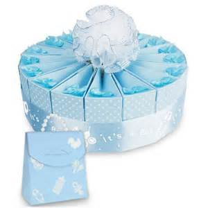 baby shower favors for a boy 1 tier baby shower favor cake kit it s a boy favor
