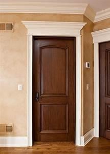 Custom solid wood interior doors traditional design for Interior doors design photos