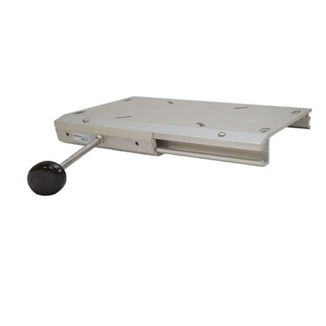 Boat Seat Pedestal Lubricant by Garelick Eez In Anodized Aluminum Boat Seat Pedestal Slide