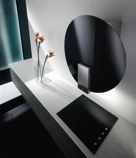 hotte de cuisine design hotte décorative design comme un point focal dans la cuisine
