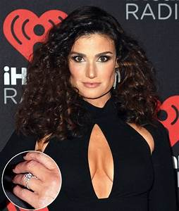 idina menzel39s diamond engagement ring is a stunner With idina menzel wedding ring