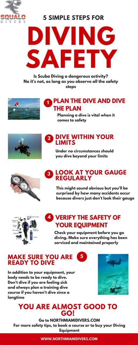 simple rules    safe dive squalo divers