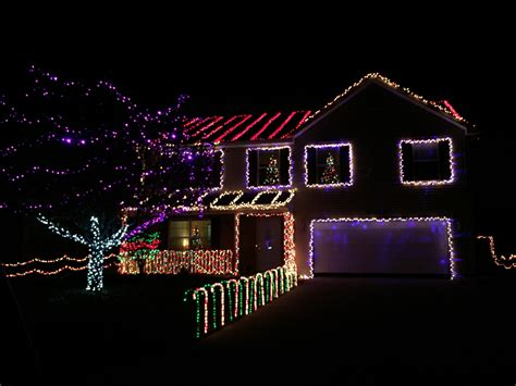 christmas light displays wayne fort lights display monique archive neighboring communities