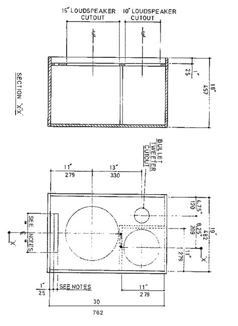 2x10 Bass Cabinet Plans by Speaker Cabinet Plans Guitar Woodplans