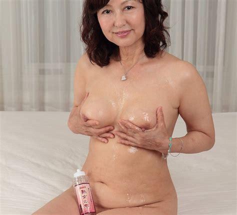 Lube Up With Hot Mature Japanese Porn Star Ayako Satonaka
