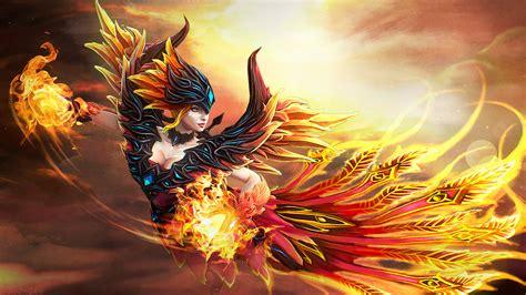 Lina Skin Fireflight Scion Dota 2 Desktop Wallpapers HD ...