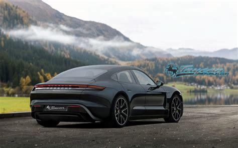 2020 Porsche Taycan by Our 2020 Porsche Taycan Preview Renderings Porsche