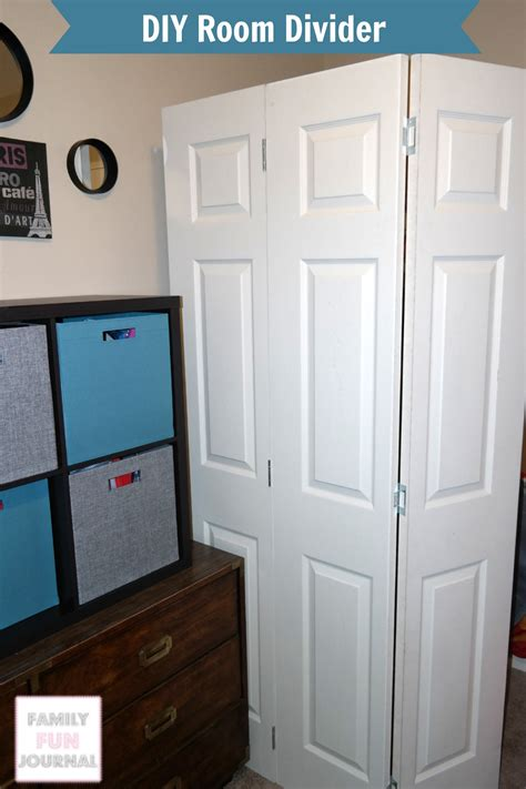 Diy Room Divider Project  Family Fun Journal
