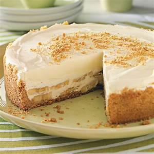 Banana Cream Cheesecake Recipe Taste of Home