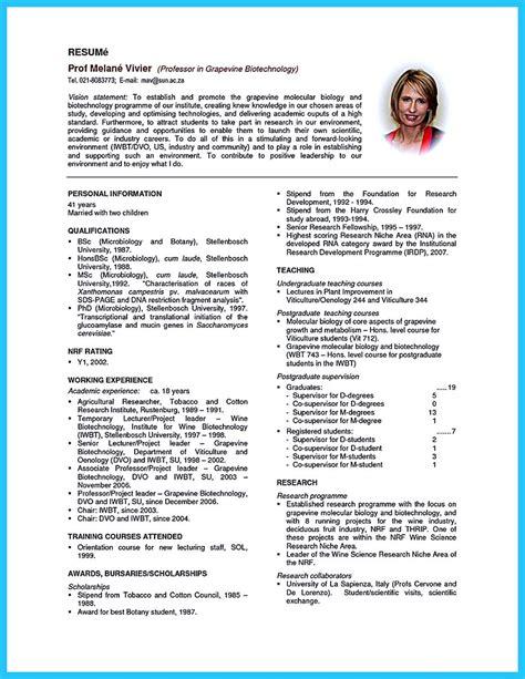 sophisticated job   unbeatable biotech resume