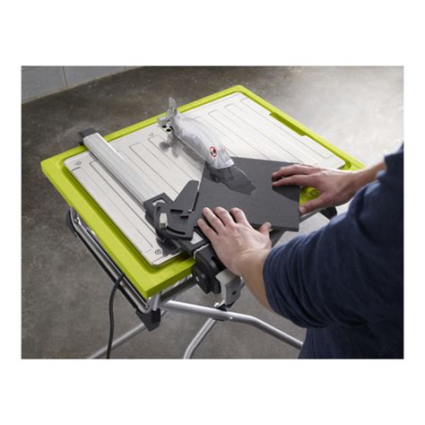 ryobi 7 tile saw assembly ryobi tools