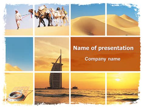 template uae ppt arab emirates presentation template for powerpoint and