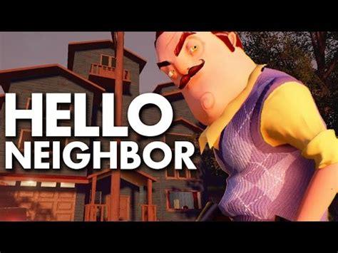 ᐈ hello neighbor stealth horror demo and play