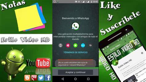 218 ltima versi 243 n gb whatsapp 6 0 personalizable diciembre 2017