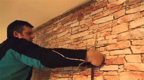 piastrelle finto muro adesivi murali come applicare un muro in pietra adesivo