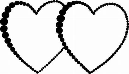 Hearts Svg Frame Transparent Vector Px Onlygfx