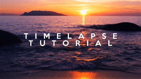Time Lapse After Effects Template by After Effects Creating A Beautiful Time Lapse Tutorial