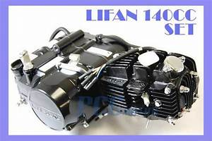 Lifan 140cc Engine Motor 4 Up   Oil Cooler Dirt Bike 107