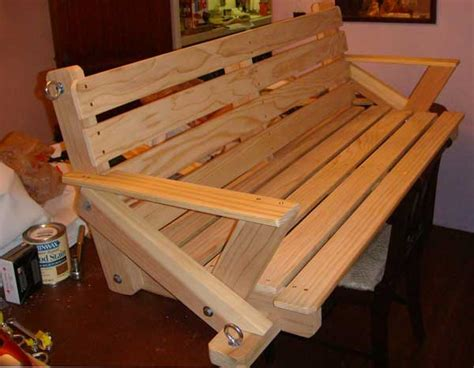 porch swing woodworking blog  plans