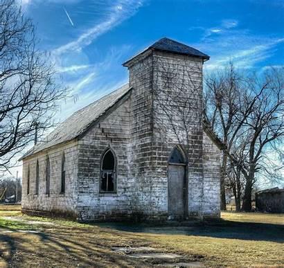 Churches Abandoned Oklahoma Church Country Anadarko Abandon