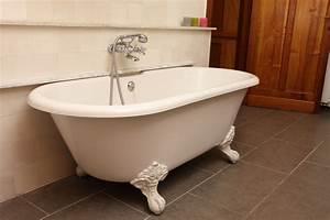 comment nettoyer une baignoire en fonte With peinture pour baignoire en fonte