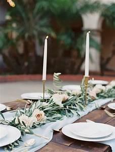 Tischdeko Selber Machen : chiffon table runner perfect for weddings by ~ Watch28wear.com Haus und Dekorationen