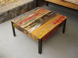 Fabriquer Une Table Basse En Palette : 50 sp cial palette table basse pour 2019 ~ Melissatoandfro.com Idées de Décoration