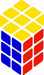 Rubik S Cube Simple Clip Art at Clker.com - vector clip ...