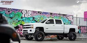 Chevrolet Silverado 2500 Hd Fuel Forged Ff07 Wheels