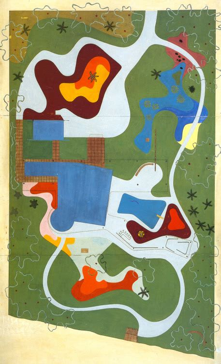 Steunk Background Roberto Burle Marx On