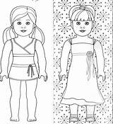 Coloring Doll Printable Popular sketch template