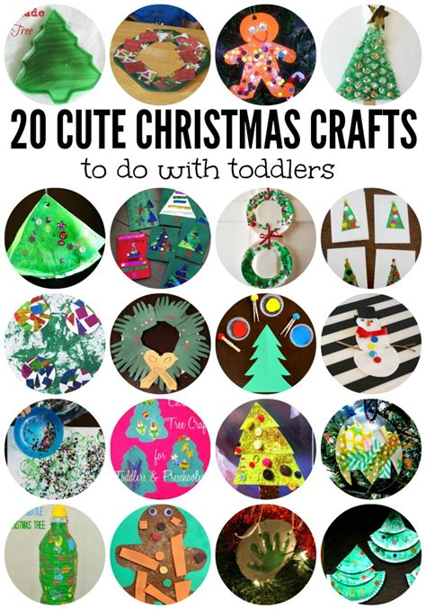 cute christmas crafts  toddlers