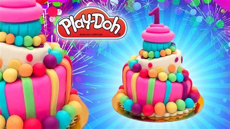 play doh birthday cake dolls food  year birthday