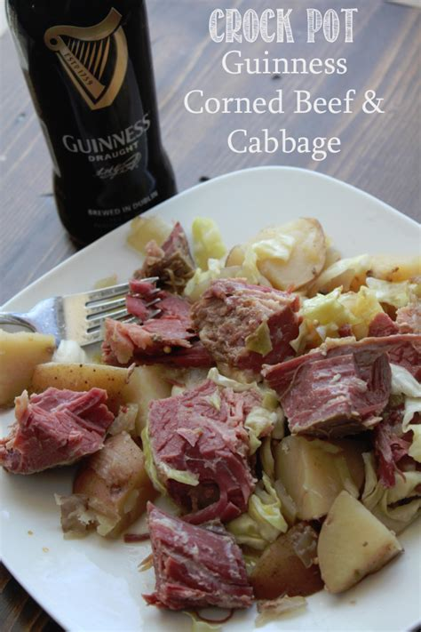 crock pot guinness corned beef and cabbagewhat2cook