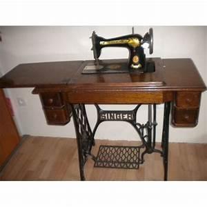 Ancienne Machine A Coudre : machines coudre anciennes les mille et 1 passions de ~ Melissatoandfro.com Idées de Décoration
