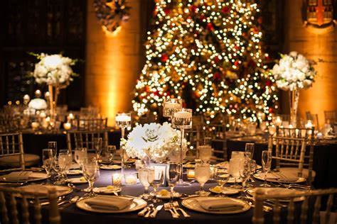 christmas wedding reception elizabeth anne designs