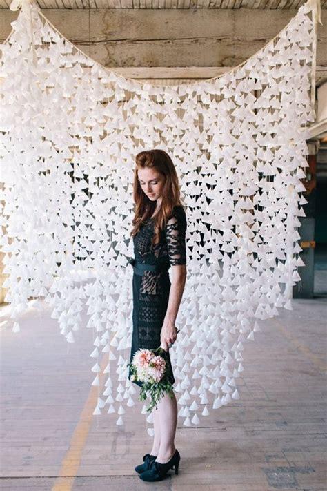 diy  fascinating wedding backdrop ideas   easy