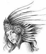 Aztec Tattoos Designs  Ideas and Meaning   Tattoos For You  Aztec Eagle Warrior Drawing