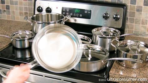 cookware steel stainless pro cuisinart multiclad piece mcp 12n