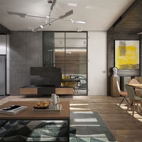 simple open floor plans awesome new york style apartment interior design with open