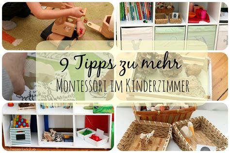 kinderzimmer gestalten montessori 9 tipps f 252 r ein bisschen montessori im kinderzimmer