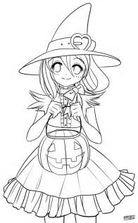 deviantART Halloween Coloring Pages