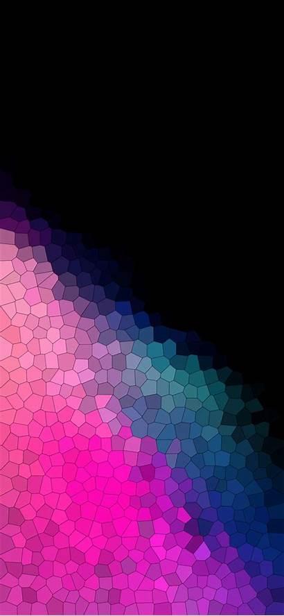 Iphone Gradient Wallpapers True Purple Mosaic Colorful