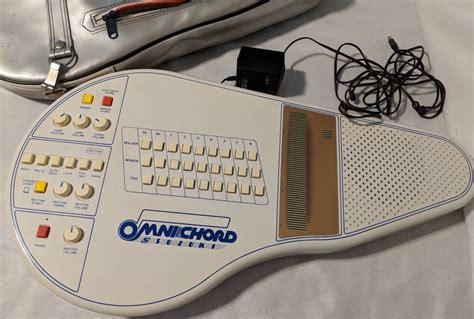 vintage suzuki omnichord om 27 electronic working with
